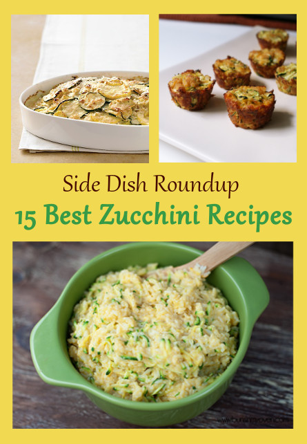 15 Zuchini Side Dish Recipes