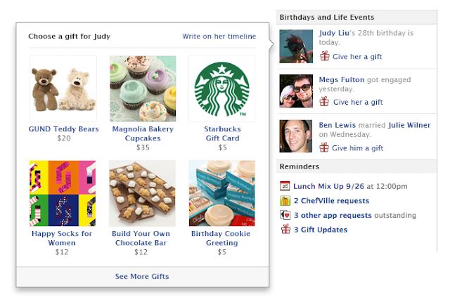 facebook-hediye-gonder