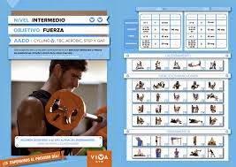 Tabla de gimnasio para ganar masa m scular pon al maximo for Gimnasio las tablas
