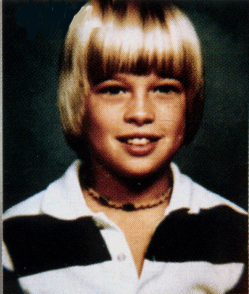 Brad Pitt before he became Angelina Jolie's wife.