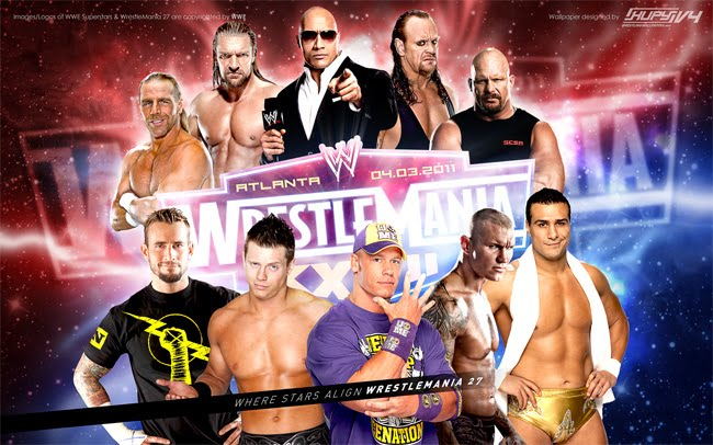 wwe wrestlemania 27 results. 2011 WWE WrestleMania