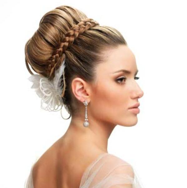 Peinados de novia moріў±os altos
