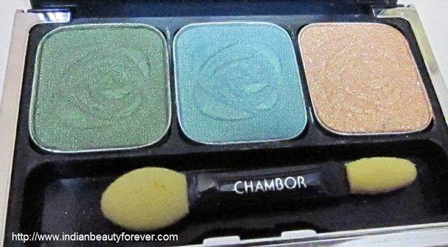 chambor eyeshadow trio palette