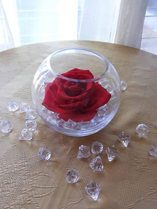 Rosas Naturales Preservadas Rojas ¡Duran 4 Años!