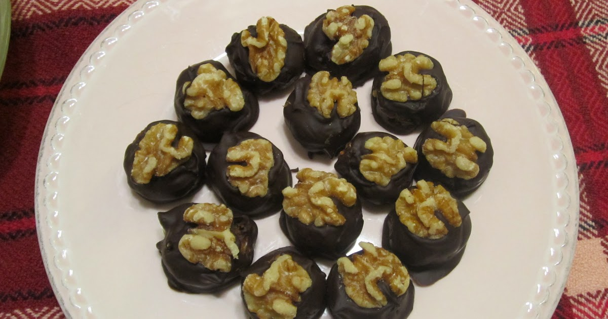 The iraqi family cookbook chocolate covered date nut balls