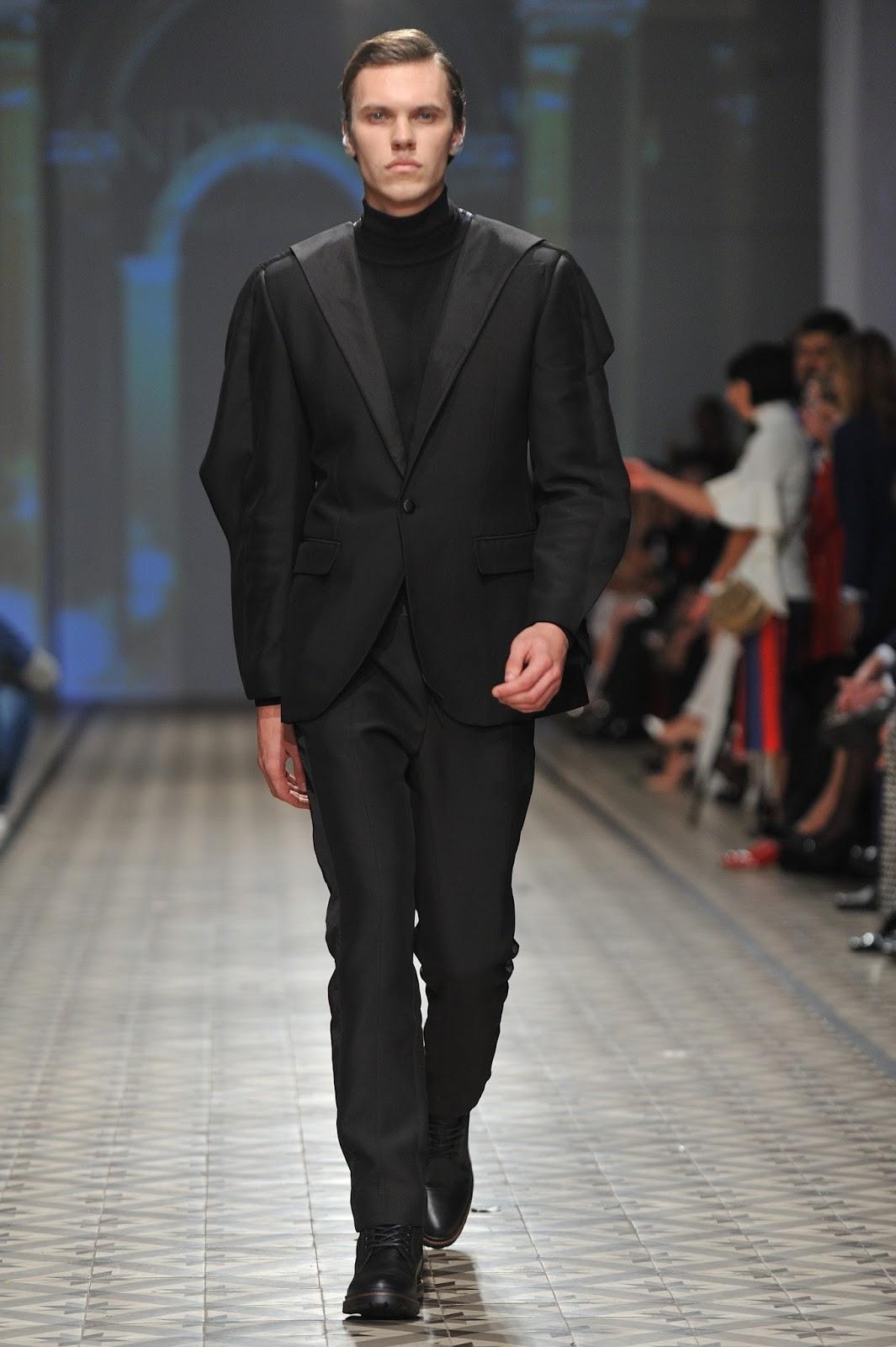 Andre kim fashion show 37