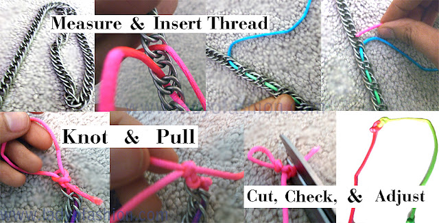 DIY Tutorial Chain necklace