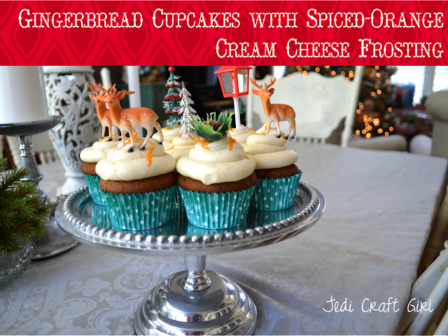 Jedi Craft Girl: Gingerbread Cupcakes with Spiced-Orange ...