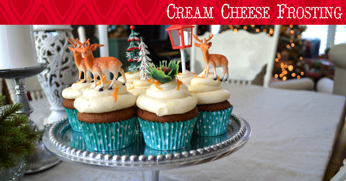 ... Girl: Gingerbread Cupcakes with Spiced-Orange Cream Cheese Frosting