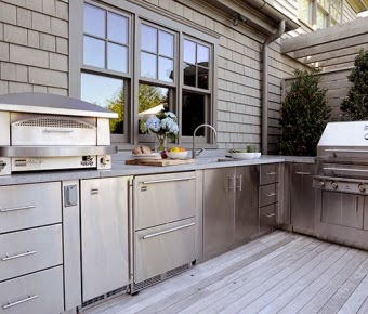 Outdoor Kitchen Design From Kalamazoo House Design Inspiration