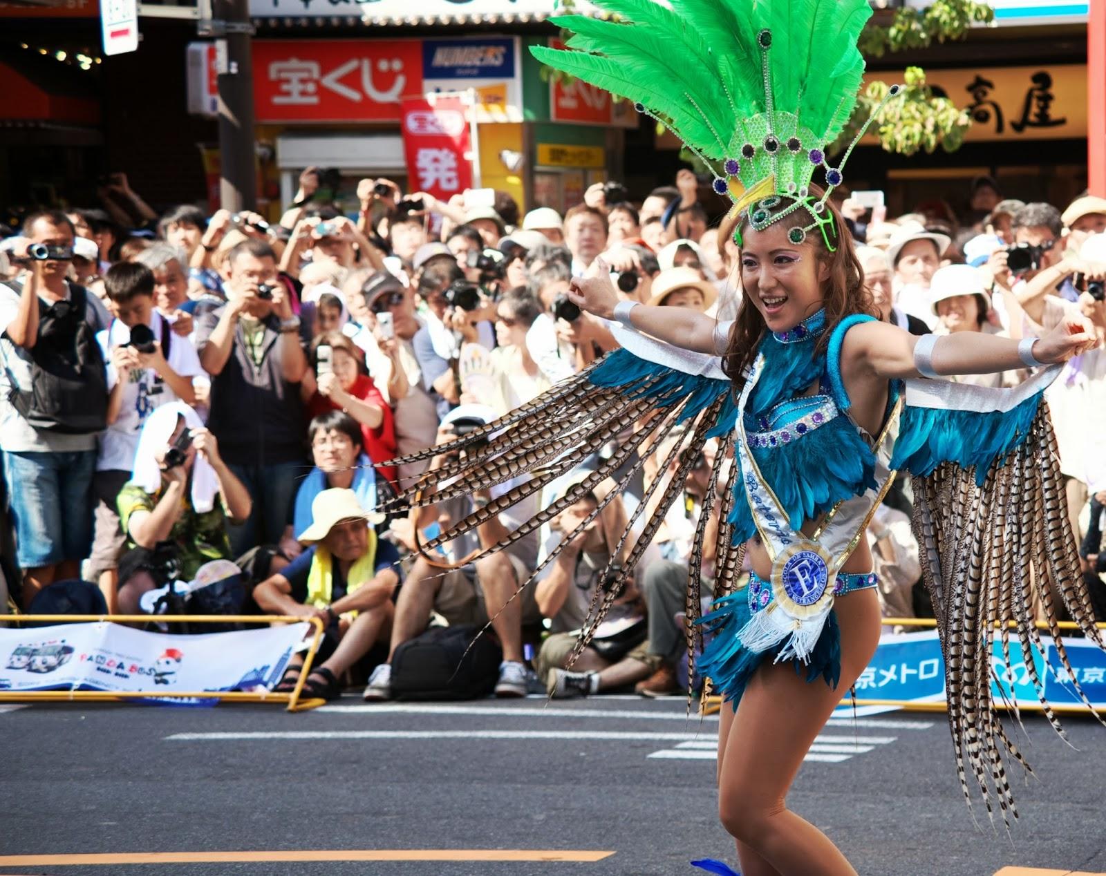 The Asakusa Samba Carnival 2013