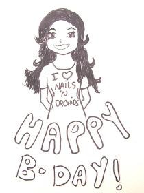 Ganhei de aniversário da Juliana Cimeno: