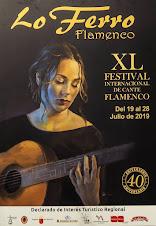 XL Festival Internacional de Cante Flamenco Lo Ferro. Del 19 al 28 de julio 2019