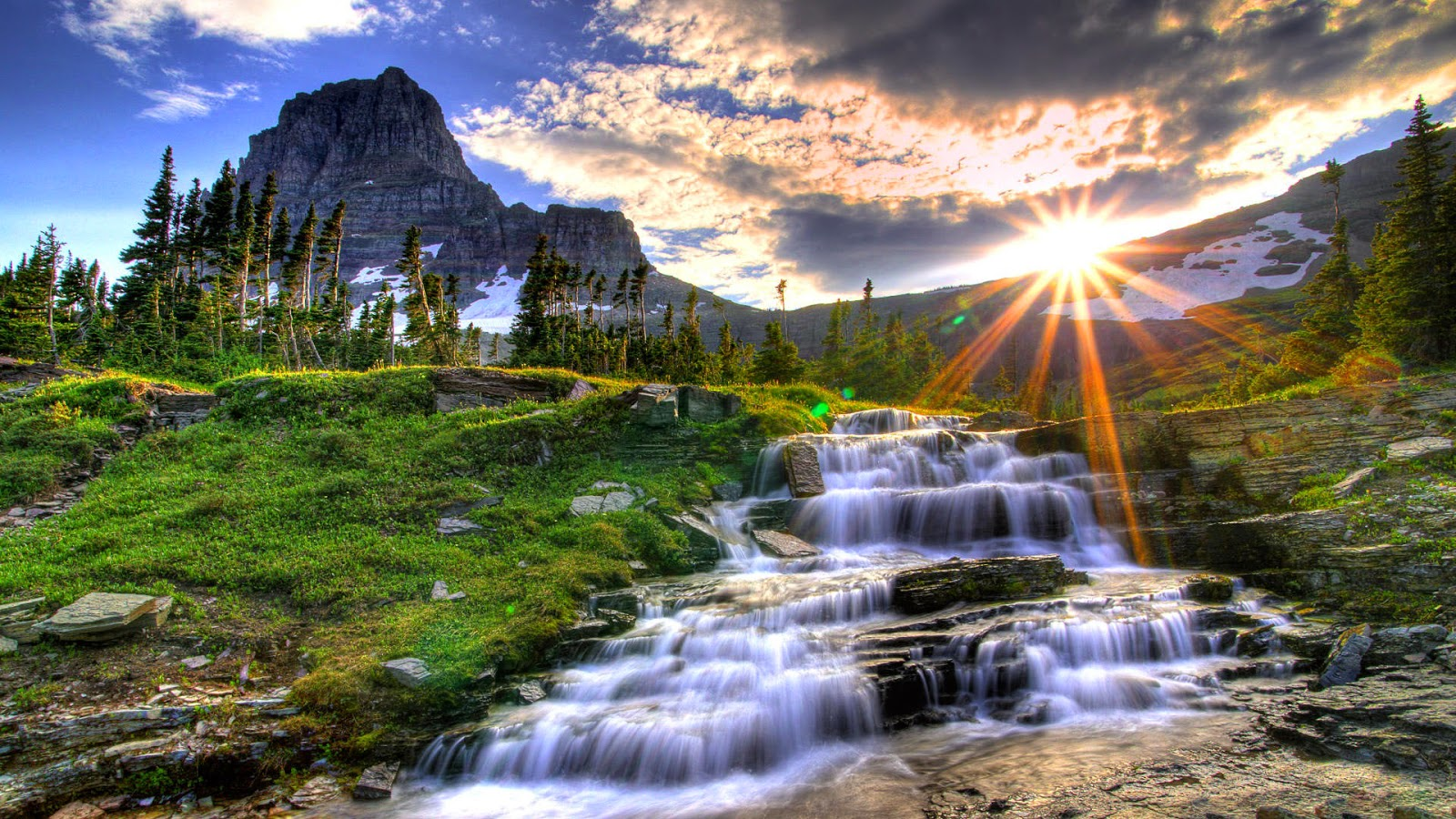 Waterfall High quality hd wallpaper Free download