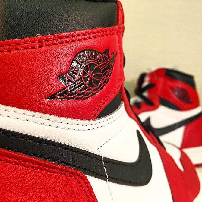 Air Jordan 1 Retro High OG White Varsity Red Black 555088 101 05 30 15