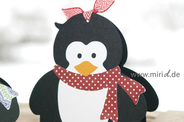 geschenkschachtel pinguin penguin gift box. Black Bedroom Furniture Sets. Home Design Ideas