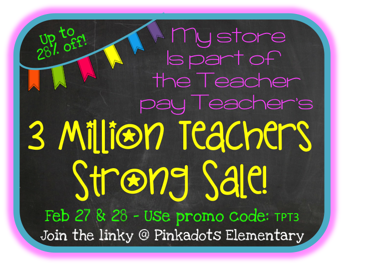 http://pinkadotselementary.blogspot.com/2014/02/the-3-million-teachers-strong-tpt-sale.html
