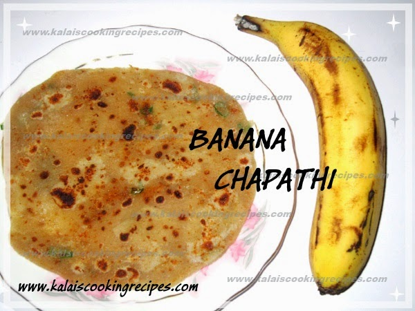 Morris Banana \ Vazhai Pazham Chapathi | Simple Special Breakfast