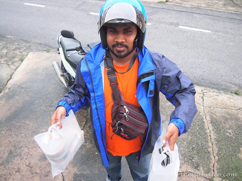 Foodpanda delivery guy