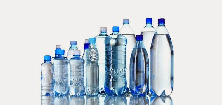 Berhenti minum dari botol plastic