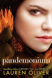 Cover Reveal: Pandemonium (Delirium #2) by Lauren Oliver