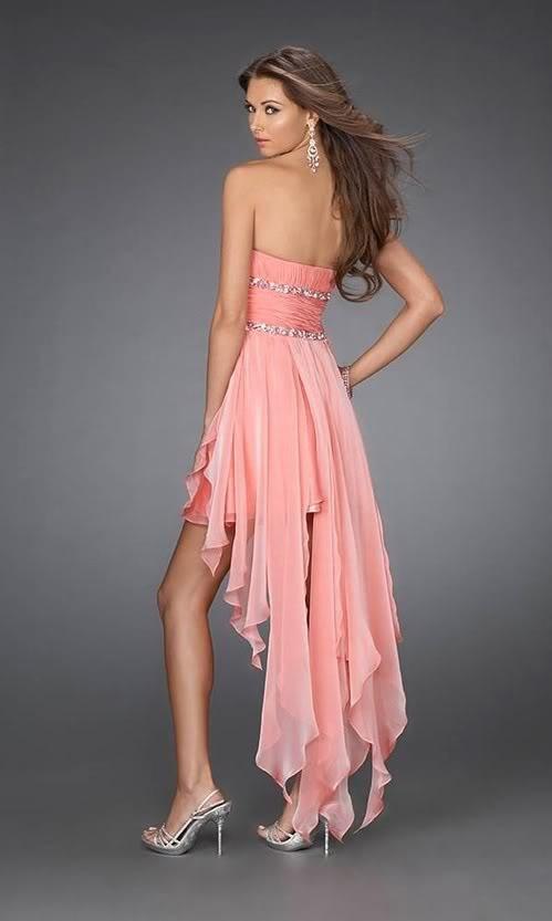 Ropa _NuevaDiosa_: Vestido de fiesta coral Talla 38