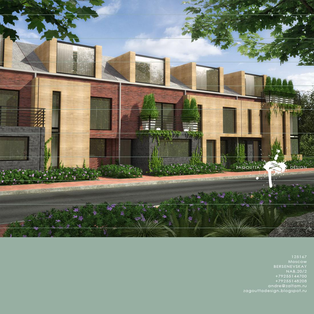 Zagoutta Design: Zagoutta Design Sierksdorf-Vorentwurf Mehrfamilienhaus