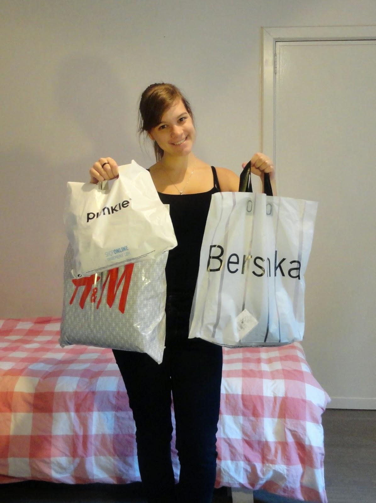 Clothes & Dreams: Shoplog: Bershka, H&M, Pimkie + ASOS: bags
