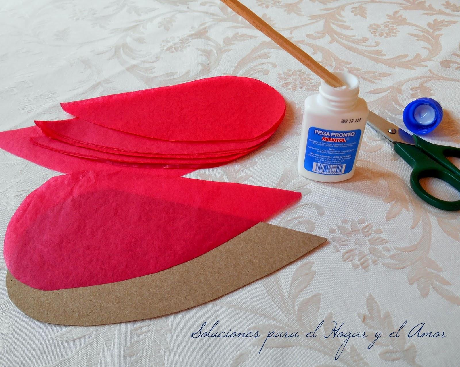 DIY Globo de Corazón de Papel de Seda para San Valentín
