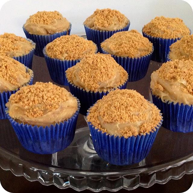 Receita : Cupcake de Paçoca
