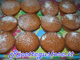muffin con gocce di cioccolato, facili e golosi