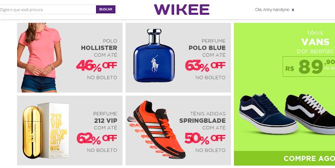 Reclamação: Site Wikee Imports