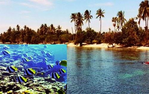 Keindahan Pulau Tunda