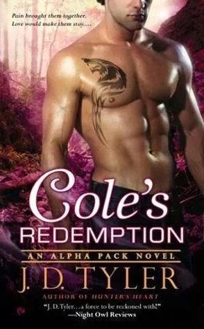 Cole's Redemption (Alpha Pack #5) by J.D. Tyler (PNR)