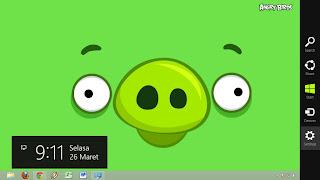 Thema Angry Birds Untuk Windows 8