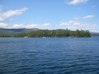остров веры, озеро тургояк