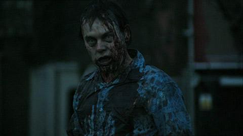 un zombie de Dead set