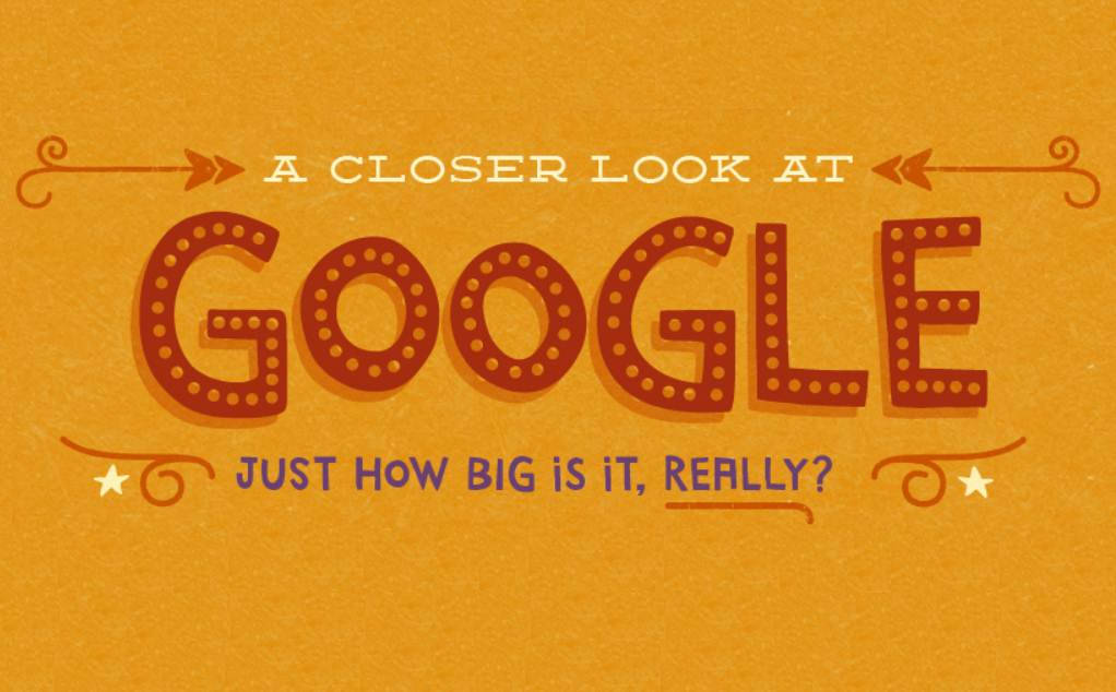 30+ Fascinating Facts About Google - infographic