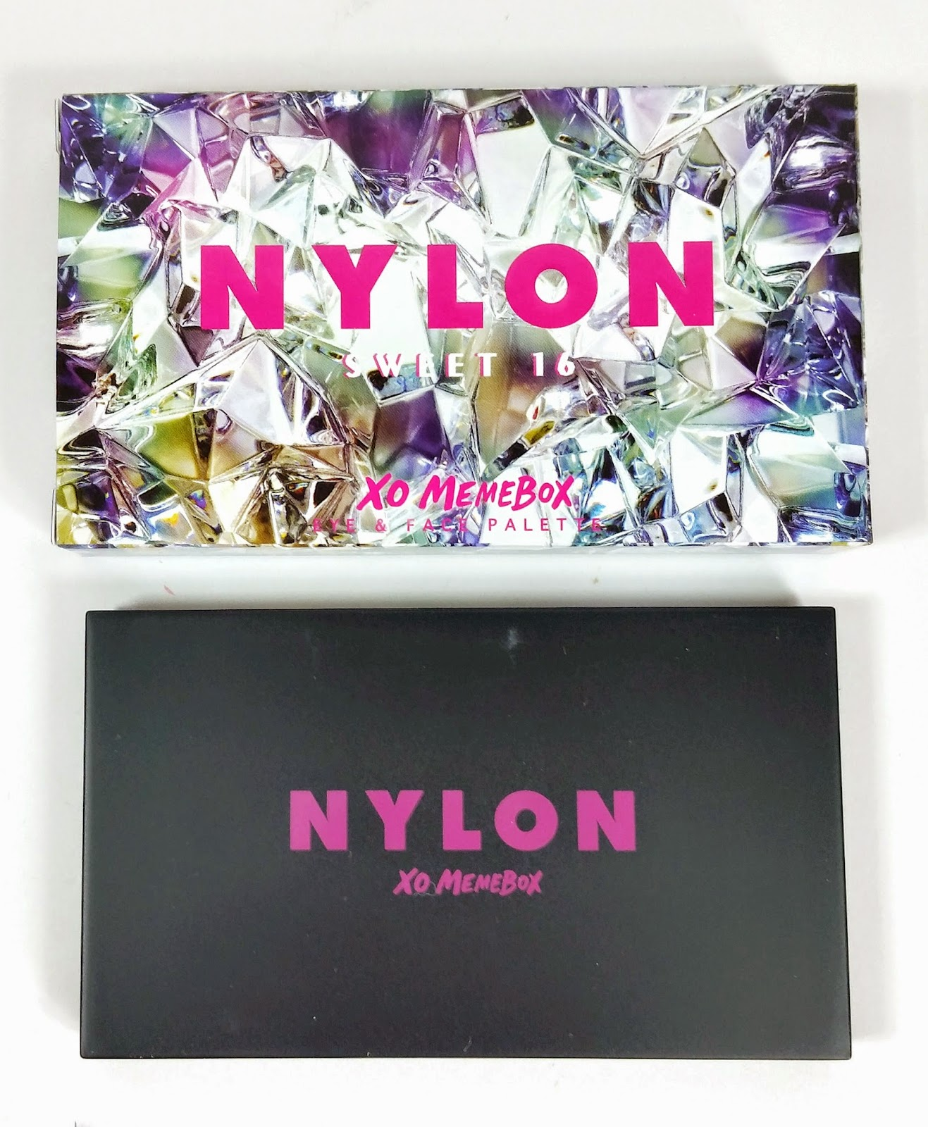 Memebox and Nylon It Girl Sweet 16 Palette Review and Swatches