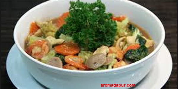 Resep Capcay Kuah Spesial Enak dan Segar aromadapurdotcom
