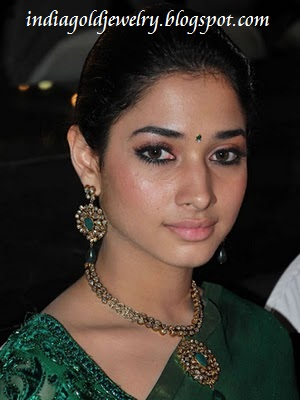 Indian Gold And Diamond Jewellery Tamanna In Traditional