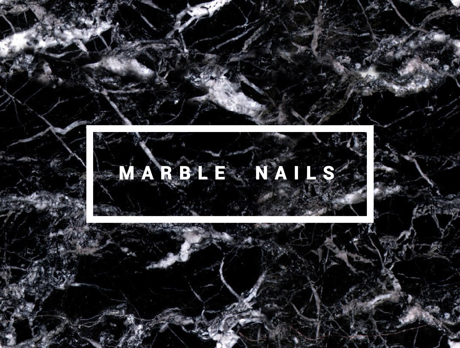 Deconstrut nails black marble nails for White and black marble