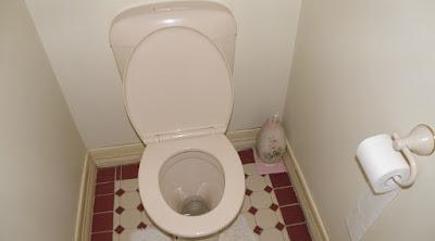 TANGAN PRIA INI TERJEPIT KARENA INGIN MENGAMBIL HP YANG JATUH KE DALAM WC
