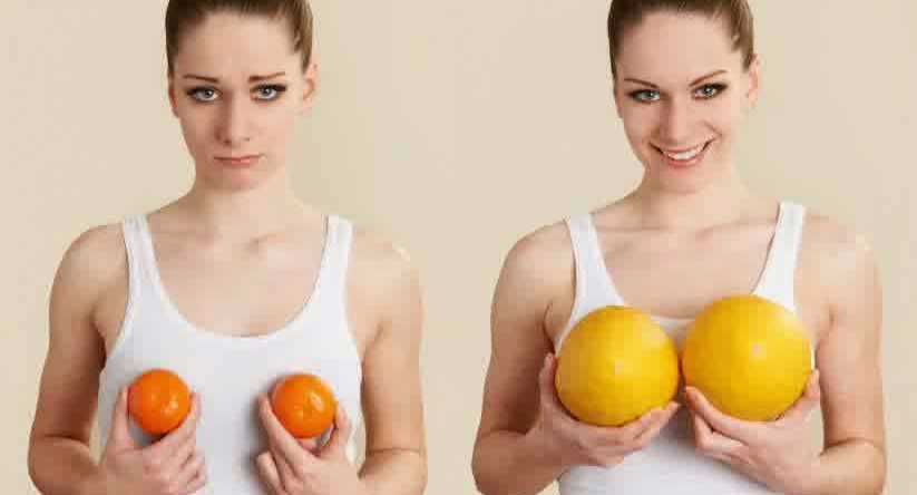 7 Tricks Make Your Breasts Bigger Without Implan