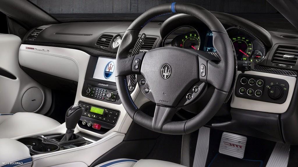2015 Maserati GranCabrio MC Centennial interior