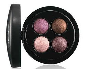 MAC mineralized eyeshadow x4 a medley of mauves