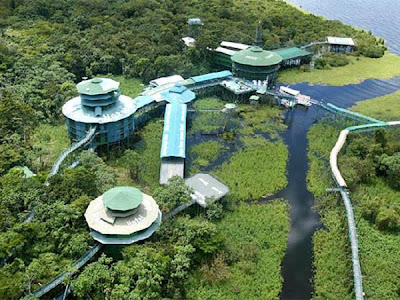 The 6 Astonishing Hotels of the World Ariau Amazon Towers Hotel Arau Creek Brazil