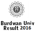 Burdwan University Result 2016