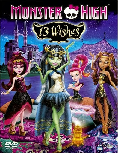 Ver Monster High: 13 Wishes Online