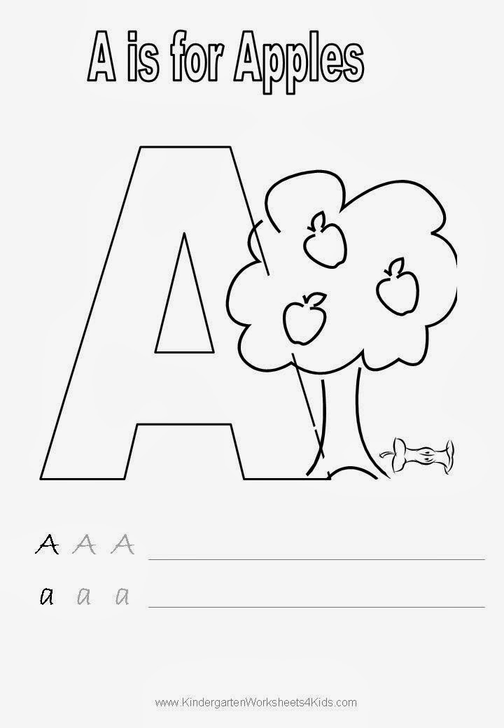 Handwriting Kindergarten Worksheets